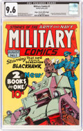 Golden Age (1938-1955):War, Military Comics #1 Mile High Pedigree (Quality, 1941) CGC NM+ 9.6 White pages....
