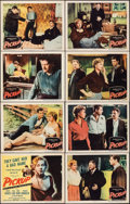 """Movie Posters:Bad Girl, Pickup & Other Lot (Columbia, 1951). Very Fine-. Lobby Card Set of 8 & Title Lobby Card (11"""" X 14""""). Bad Girl.. ... (Total: 9 Items)"""