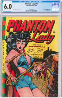 Phantom Lady #17 (Fox Features Syndicate, 1948) CGC FN 6.0 Off-white to white pages