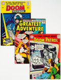 Silver Age (1956-1969):Superhero, Doom Patrol Group of 14 (DC, 1963-68) Condition: Average VG/FN.... (Total: 14 )