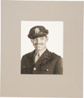 Movie/TV Memorabilia:Autographs and Signed Items, Clark Gable Signed and Inscribed Black and White Photo With Matte....