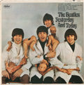 """Music Memorabilia:Recordings, The Beatles Yesterday & Today Mono Third State """"Butcher"""" Cover With Vinyl Record (Capitol, T 2553)...."""
