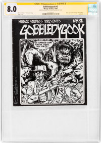 Gobbledygook #2 Signature Series - Kevin Eastman (Mirage Studios, 1984) CGC VF 8.0 White pages
