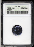 Proof Roosevelt Dimes: , 1953 PR 65 ANACS. The current Coin Dealer Newsletter (...