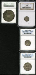 Mexico, Mexico: A 4-piece lot including:... (Total: 4 coins)