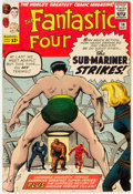 Silver Age (1956-1969):Superhero, Fantastic Four #14 (Marvel, 1963) Condition: VG/FN....