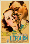 Movie Posters:Drama, Christopher Strong (RKO, 1933). Very Fine on Paper.