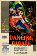 Movie Posters:Musical, Dancing Pirate (RKO, 1936). Folded, Very Fine+. On...