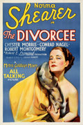 "Movie Posters:Romance, The Divorcee (MGM, 1930). Folded, Very Fine. One Sheet (27"" X 41""). From the Mike Kaplan Collection.. ..."