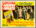 """Movie Posters:Drama, The Grapes of Wrath (20th Century Fox, 1940). Fine/Very Fine. Title Lobby Card (11"""" X 14""""). From the Mike Kaplan Collectio..."""