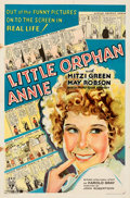 Movie Posters:Comedy, Little Orphan Annie (RKO, 1932). Folded, Fine/Very Fine.