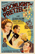 "Movie Posters:Musical, Moonlight and Pretzels (Universal, 1933). Folded, Fine+. One Sheet (27"" X 41""). From the Mike Kaplan Collection.. ..."