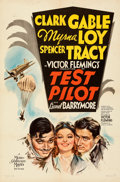 Movie Posters:Action, Test Pilot (MGM, 1938). Folded, Very Fine-. One Sh...