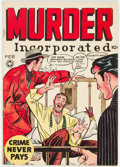 Golden Age (1938-1955):Crime, Murder Incorporated #8 (Fox Features Syndicate, 1949) Condition: FN/VF....