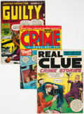 Golden Age (1938-1955):Crime, Golden Age Crime Comics Group of 8 (Various Publishers, 1940s-50s) Condition: Average VG/FN.... (Total: 8 Comic Books)