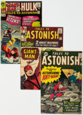 Silver Age (1956-1969):Superhero, Tales to Astonish Group of 7 (Marvel, 1963-65) Condition: Average FN-.... (Total: 7 Comic Books)