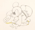 Animation Art:Production Drawing, Mickey's Service Station Mickey Mouse Animation Drawing (Walt Disney, 1935).. ...