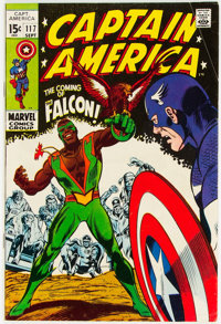 Captain America #117 (Marvel, 1969) Condition: VG/FN