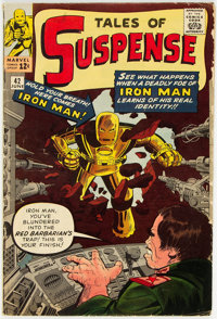 Tales of Suspense #42 (Marvel, 1963) Condition: GD/VG