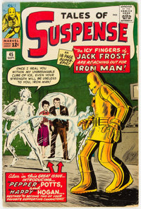 Tales of Suspense #45 (Marvel, 1963) Condition: VG-