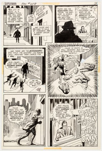 Curt Swan and Murphy Anderson Superman #258 Story Page 3 Original Art (DC, 1972)