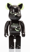 Collectible, BE@RBRICK . Happy Halloween 400% (Glow in the Dark), 2016. Painted cast resin. 10-3/4 x 5 x 3-1/2 inches (27.3 x 12.7 x ...