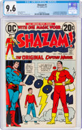 Bronze Age (1970-1979):Superhero, Shazam! #1 (DC, 1973) CGC NM+ 9.6 Off-white to white pages....