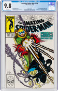 Modern Age (1980-Present):Superhero, The Amazing Spider-Man #298 (Marvel, 1988) CGC NM/MT 9.8 White pages....