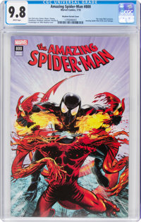The Amazing Spider-Man #800 Mayhew Variant Cover (Marvel, 2018) CGC NM/MT 9.8 White pages