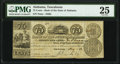 Obsoletes By State:Alabama, Tuscaloosa, AL- Bank of the State of Alabama 75¢ Aug. 1, 1842 PMG Very Fine 25.. ...