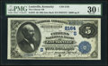 National Bank Notes:Kentucky, Louisville, KY - $5 1882 Date Back Fr. 534 The Citizens National Bank Ch. # (S)2164 PMG Very Fine 30 EPQ.. ...