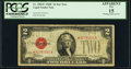 Fr. 1504* $2 1928C Legal Tender Star Note. PCGS Apparent Fine 15