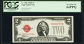 Small Size:Legal Tender Notes, Fr. 1506 $2 1928E Legal Tender Note. PCGS Very Choice New 64PPQ.. ...