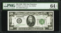 Small Size:Federal Reserve Notes, Fr. 2050-L $20 1928 Federal Reserve Note. PMG Choice Uncirculated 64 EPQ.. ...