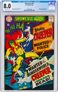 Silver Age (1956-1969):Superhero, Showcase #73 The Creeper (DC, 1968) CGC VF 8.0 Off-white pages....