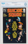 Modern Age (1980-Present):Superhero, Suicide Squad #1 (DC, 1987) CBCS NM/MT 9.8 White pages....