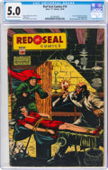 Golden Age (1938-1955):Crime, Red Seal Comics #14 (Chesler, 1945) CGC VG/FN 5.0 Cream to off-white pages....