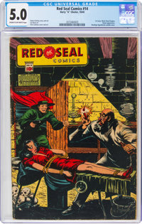 Red Seal Comics #14 (Chesler, 1945) CGC VG/FN 5.0 Cream to off-white pages