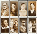 """Non-Sport Cards:Sets, 1935 Mitchell's Cigarettes """"A Gallery of 1934"""" Complete Set (50). ..."""