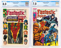 Silver Age (1956-1969):Superhero, Fantastic Four #54 and 82 CGC-Graded Group (Marvel, 1966-69).... (Total: 2 )