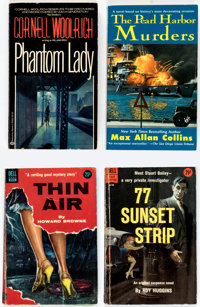 Assorted Vintage Mystery Paperbacks Group of 35 (Various, 1958-2001) Condition: Average FN.... (Total: 35 Items)