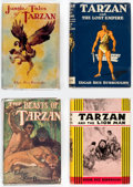 Books:Hardcover, Edgar Rice Burroughs Tarzan-Related Hardcovers Group of 13 (Various, 1916-99) Condition: Average VG.... (Total: 13 Items)