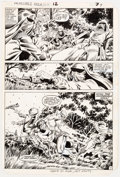 Original Comic Art:Panel Pages, Herb Trimpe The Incredible Hulk Annual #12 Story Page 7 Original Art (Marvel, 1983)....