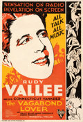 """Movie Posters:Musical, The Vagabond Lover (RKO, 1929). Good on Linen. One Sheet (27.25"""" X 39.75""""). From the Mike Kaplan Collection.. ..."""