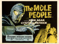 Movie Posters:Science Fiction, The Mole People (Universal International, 1956). Folded, V...