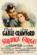 Movie Posters:Drama, Strange Cargo (MGM, 1940). Fine on Linen. One Shee...
