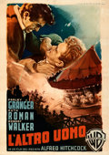 Movie Posters:Hitchcock, Strangers on a Train (Warner Bros., 1952). Fine/Very Fine ...