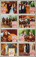"""Movie Posters:Foreign, The Nights of Lucretia Borgia & Other Lot (Columbia, 1960). Very Fine-. Lobby Card Set of 8 & Lobby Cards (3) (11"""" X 14""""). F... (Total: 11 Items)"""