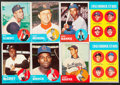 Baseball Cards:Sets, 1963 Topps Baseball Partial Set (383/576) With Pete Rose Rookie....