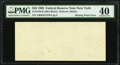 Error Notes:Blank Reverse (100%), Missing Back Printing Error Fr. 2126-B $50 1996 Federal Reserve Note. PMG Extremely Fine 40.. ...
